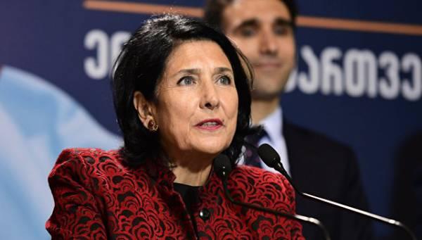 Зурабишвили победила на выборах президента Грузии