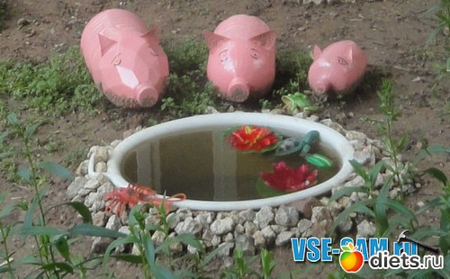 Красивые игрушки для сада своими руками