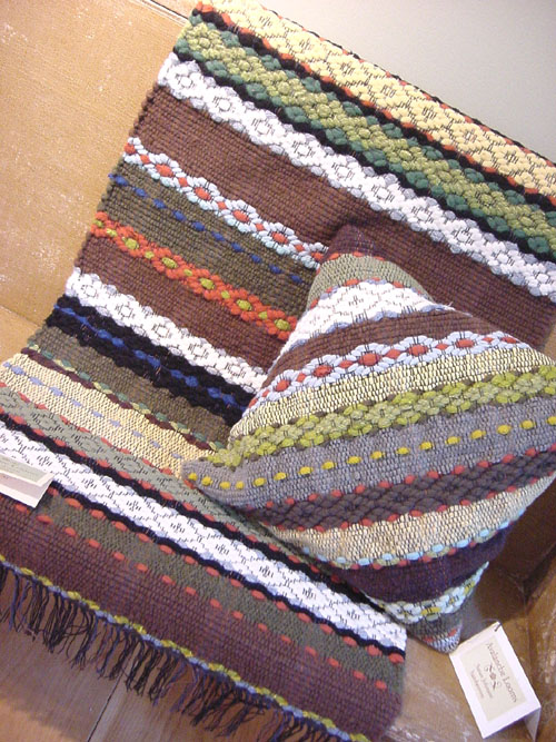 Ткать половики на ткацком