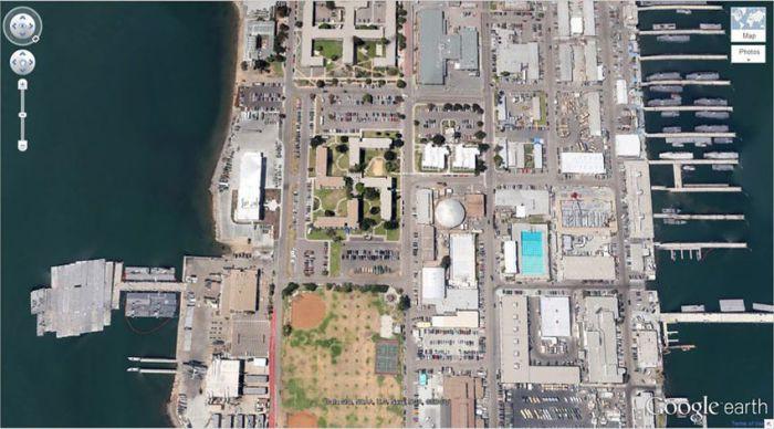 Коронадо, Калифорния, США google, снимки, спутник