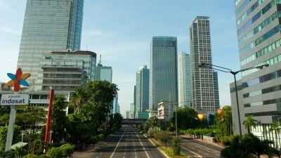 В Джакарте прогремела серия взрывов