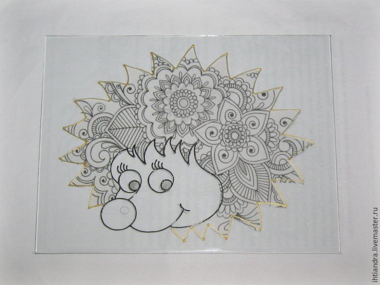 Для росписи контурами рисунки