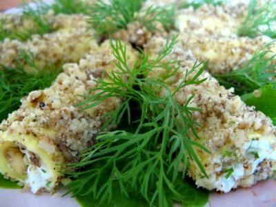 Сырные трубочки -  быстрая в приготовлении и очень вкусная закуска!