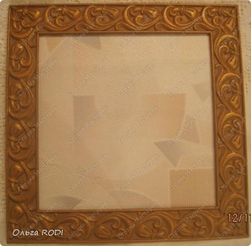 Рамка для фото из потолочного плинтуса своими руками