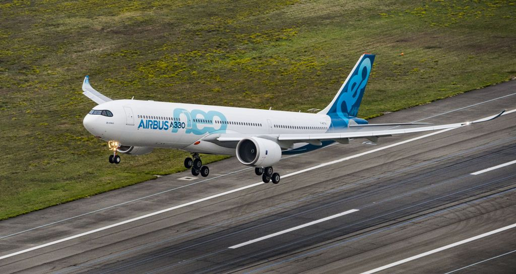 A330neo отправляется в мировое турне