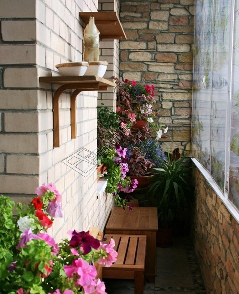 Оформление маленьких балконов внутри фото.