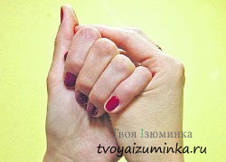 Массаж большого пальца