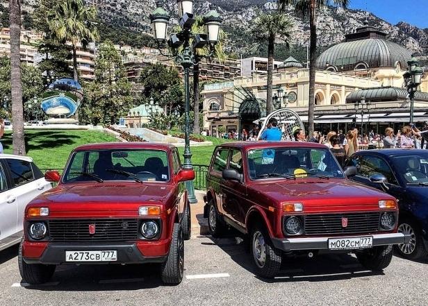 Миллиардеры в шоке: На выставке роскоши в Монако показали «Ниву»