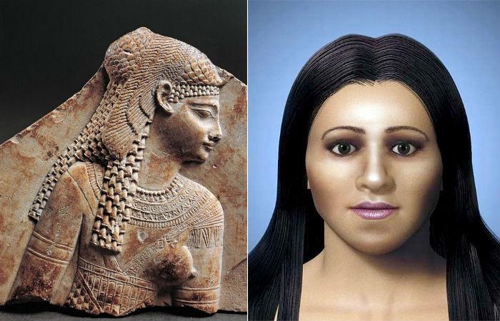 Арсиноя IV - младшая сестра и жертва царицы Клеопатры.