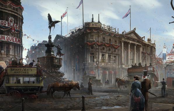 Концепты Assassin's Creed: Syndicate