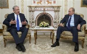 Нетаниягу ничего не добился от Путина