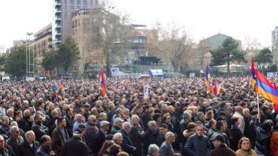 Акции протеста проходят в пя…