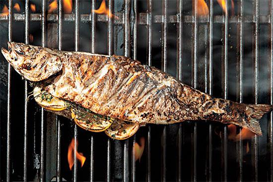 Все тонкости приготовления рыбы на гриле