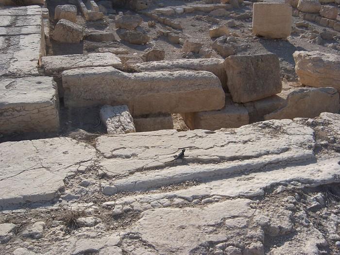 Сирийские руины.