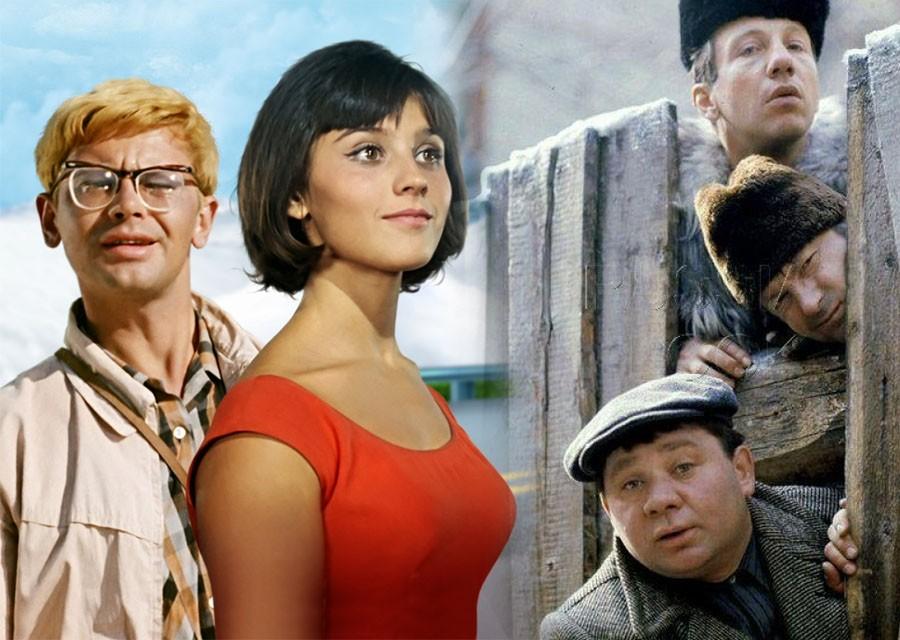 Первые названия популярных советских фильмов