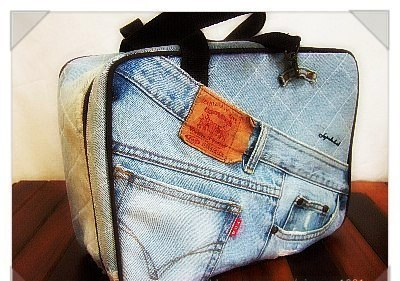 Шьем сумку из джинсов