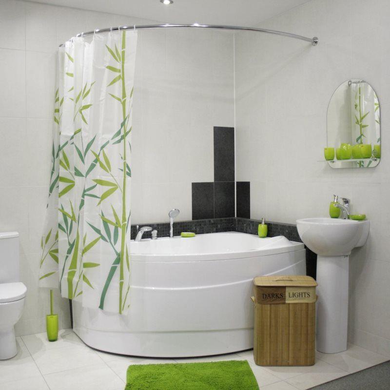 Шторы для ванной комнаты — стильные занавески разных видов для практичного и красивого обустройства