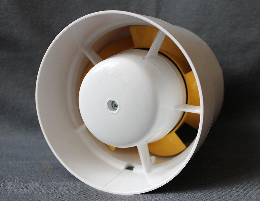 Как сделать вентилятор в туалете