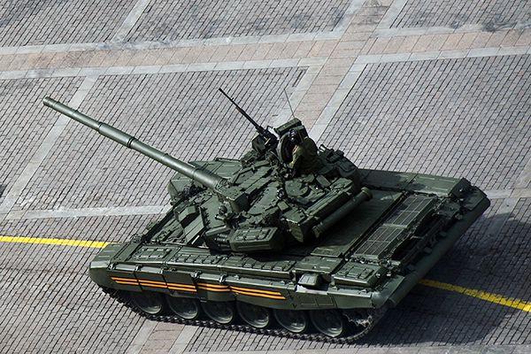 Какие танки стоят на вооружении Российской армии