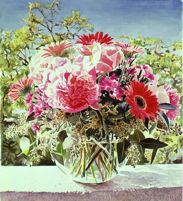 Все роскошество цветов — яркие натюрморты художника Дэвида Ллойда Гловера