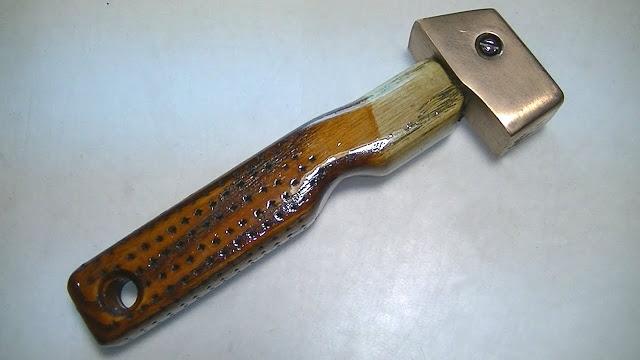 Не удалось купить инструмент - сделаю сам (мягкий молоток)