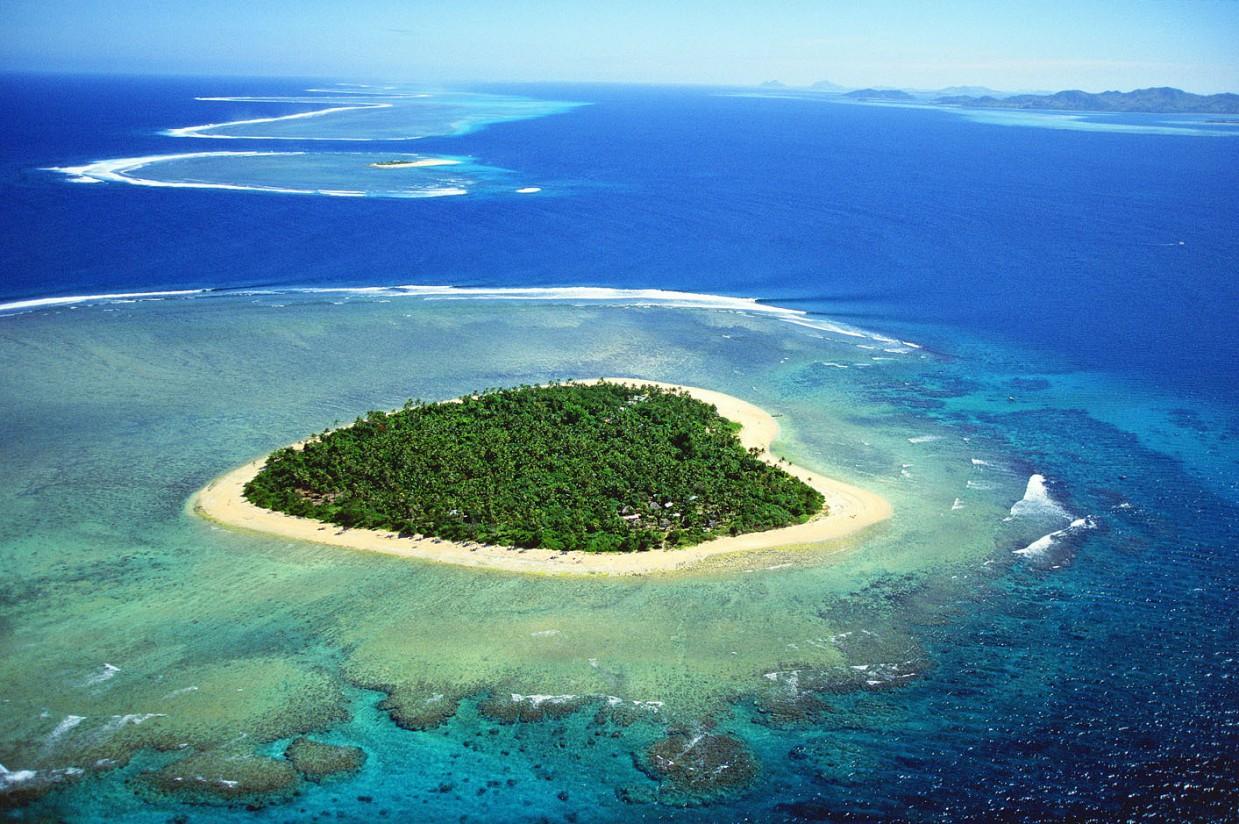 5. Остров в форме сердца, Фиджи в мире, остров