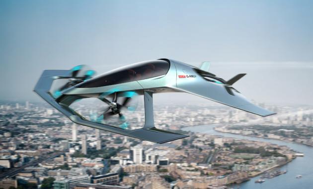 Aston Martin представил концепт люксового самолёта