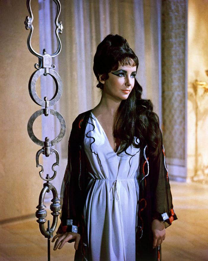 Элизабет Тейлор (Elizabeth Taylor) на съемках фильма «Клеопатра» (Cleopatra) (1963), фото 9
