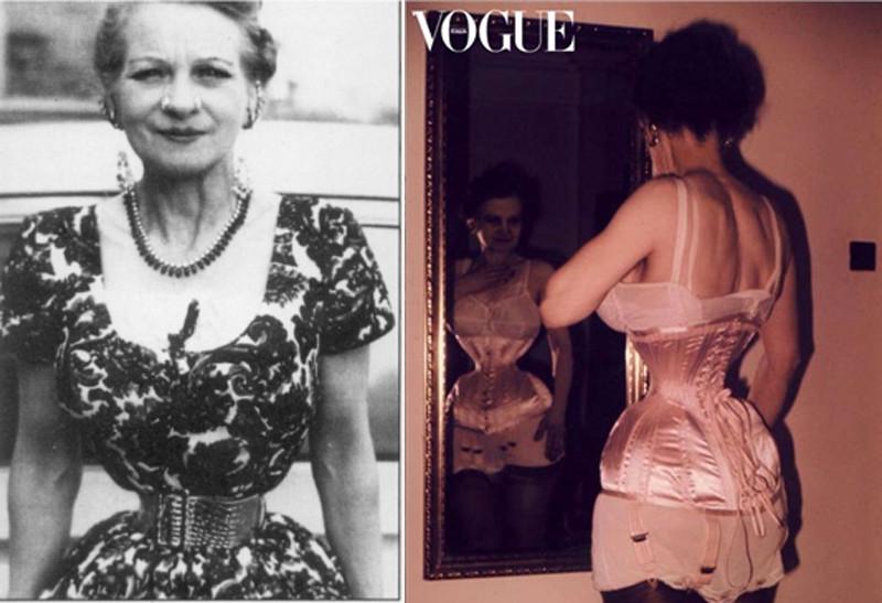 Этель Грейнджер корсет, мода, талия, ужас