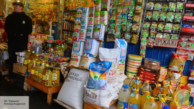 Украина: цены на продукты свели с ума патриотов