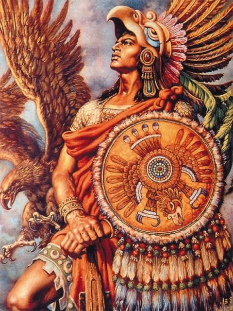 6. Ацтекские воины-орлы древний мир, спецназ