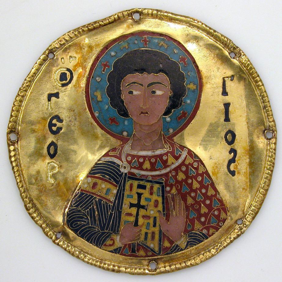4 Медальон «Святой Георгий»