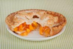 Пирог с персиками - фруктовый вкус лета