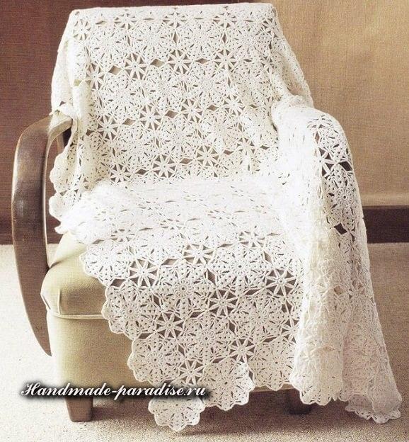 Схему вязания также можно