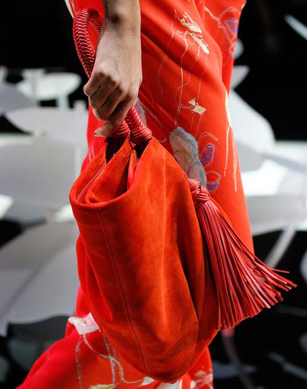 Цвет мандарина в одежде и аксессуарах - особенно актуально в предновогодье!