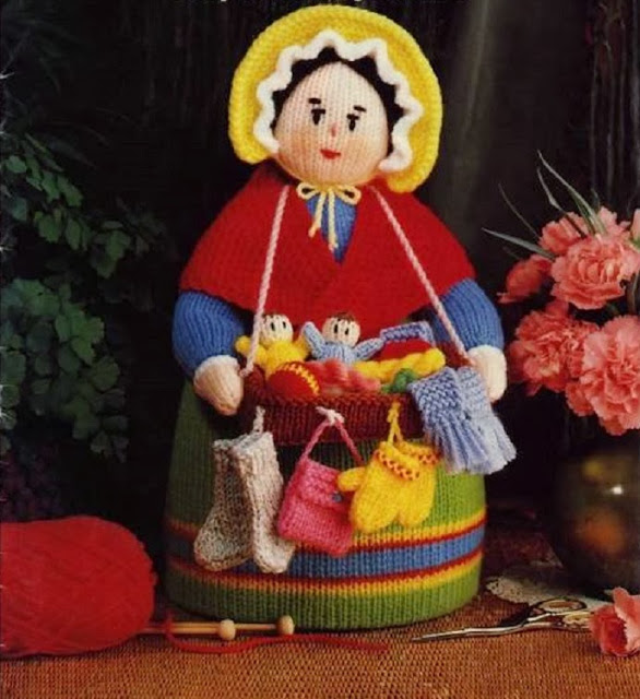 Бабушка коробейница