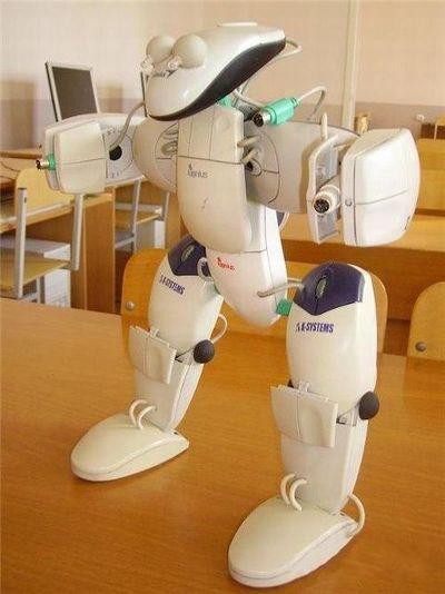 Делаем робота из компьютерных мышей