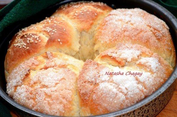 Очень вкусные булочки с карамельками. Мама всегда пекла такие на выходных!