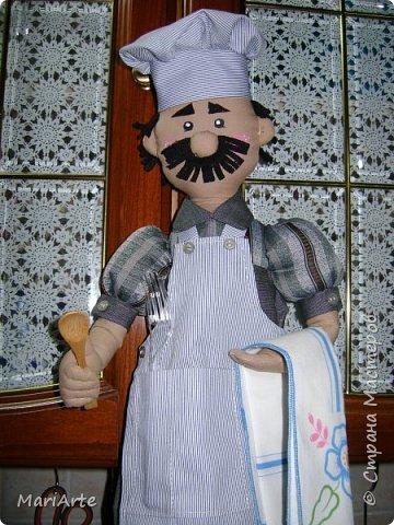 Кукла пакетница повар своими руками выкройки