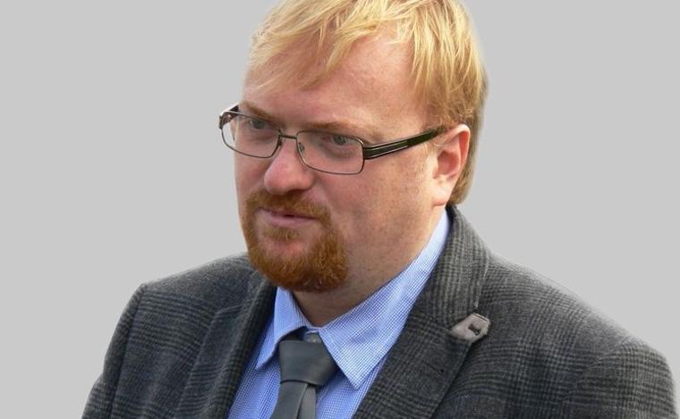 """""""У меня нюх на них"""": Милонов рассказал, как вычислить гея по запаху"""