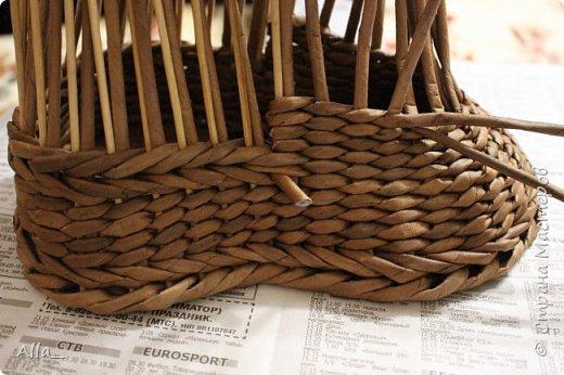 Мастер-класс Поделка изделие Плетение Как я делаю башмак Трубочки бумажные фото 10