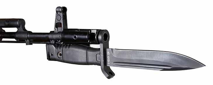Штык-нож 6X9-1 входящий в состав экипировки «Ратник»