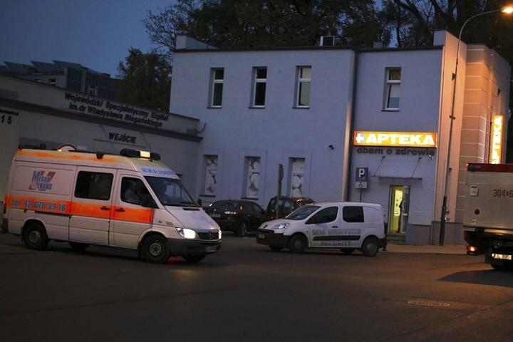 В польском городе Жешув рухнул потолок в ТЦ, пострадали семь человек