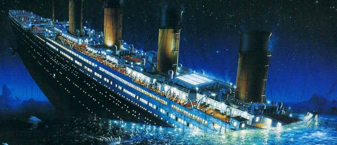 «Титаник» погиб не от столкновения с айсбергом