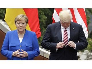 Развод неизбежен: зачем Трамп швырял конфетами в Меркель