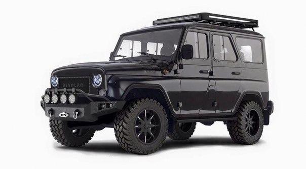 Автомобили UAZ в исполнении Devolro испытают на двух континентах
