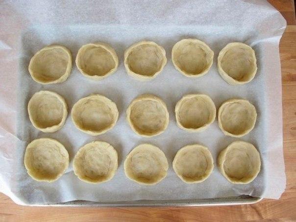 Мини-пироги с мясом и рисом