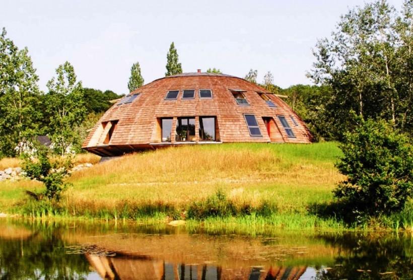 Дом-купол, Франция