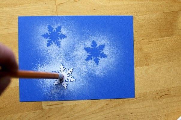 Детская территория. снежинки - идея для  зимнего творчества