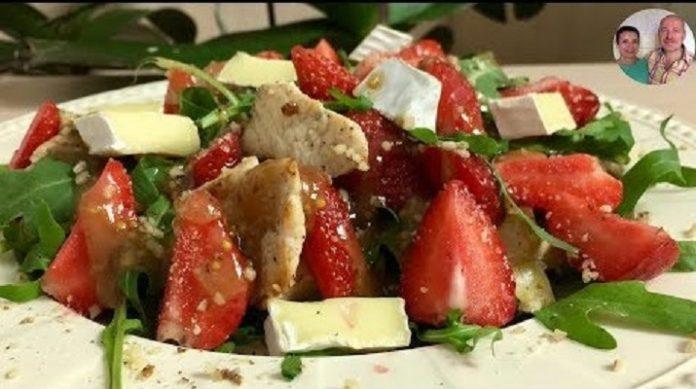 Очень вкусный летний салат «Рапунцель»